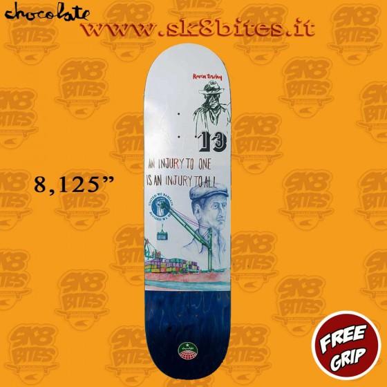 """Chocolate Stevedore Tershy 8,125"""" Skateboard Street Pool Deck"""