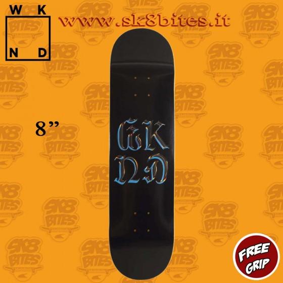 "WKND Chrome Logo 8"" Skateboard Street Pool Deck"