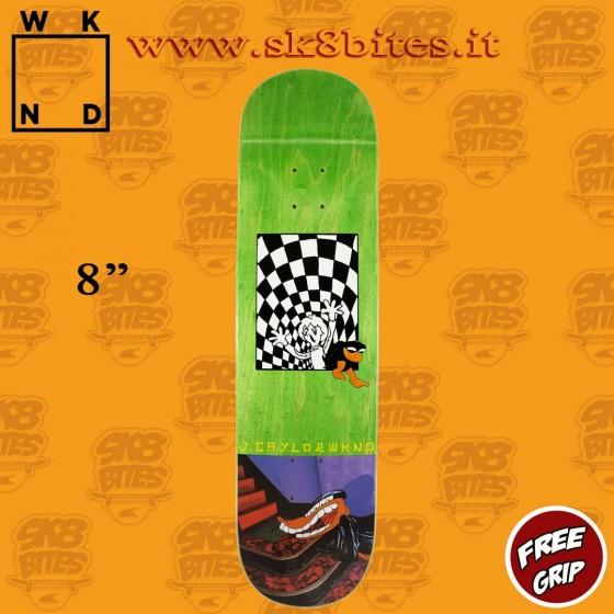 "WKND Earth To Jordan Taylor 8"" Skateboard Street Pool Deck"