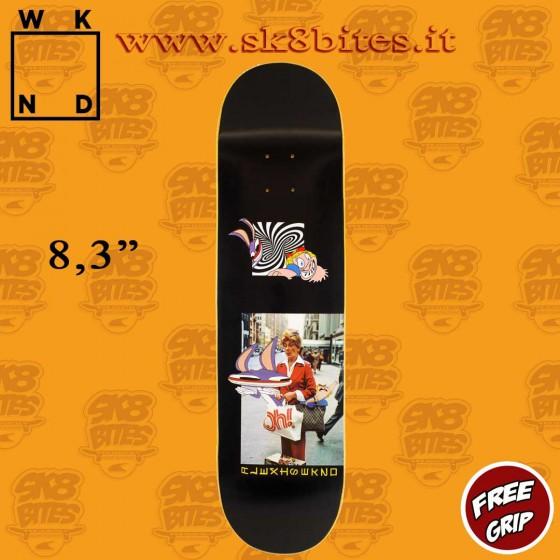 "WKND Earth To Alexis Sablone 8.3"" Skateboard Street Pool Deck"