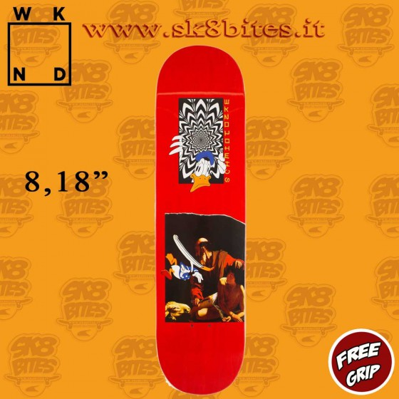 "WKND Earth To Alex Schmidt 8,18"" Skateboard Street Pool Deck"