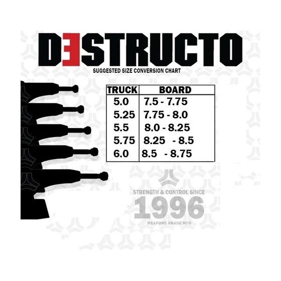 Destructo D1 Black/Gold Mid 5.25