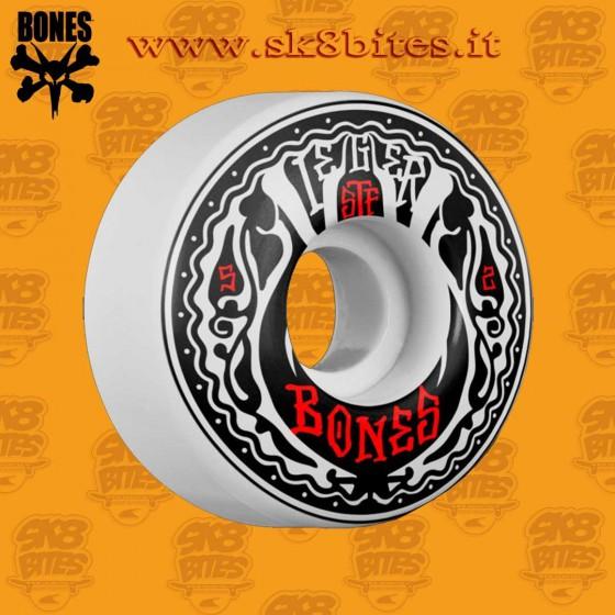 Bones STF Pro Weiger Phillips 52mm V1 Skateboard Street Pool Wheels