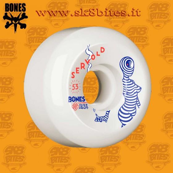 Bones STF Pro Servold Mindseye 53mm V5 Skateboard Street Pool Wheels