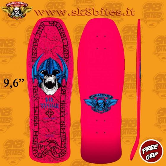 "Powell Peralta Welinder Pink 9,6"" Tavola Skateboard Street"