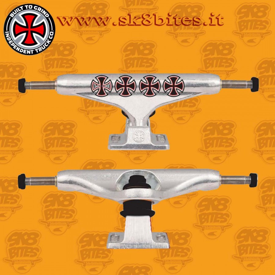 Independent Stage 11 Hollow Lopez Crosses Silver 149 mm Skateboard Street Pool Trucks
