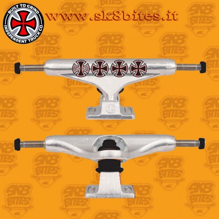 Independent Stage 11 Hollow Lopez Crosses Silver 139mm Skateboard Street Pool Trucks