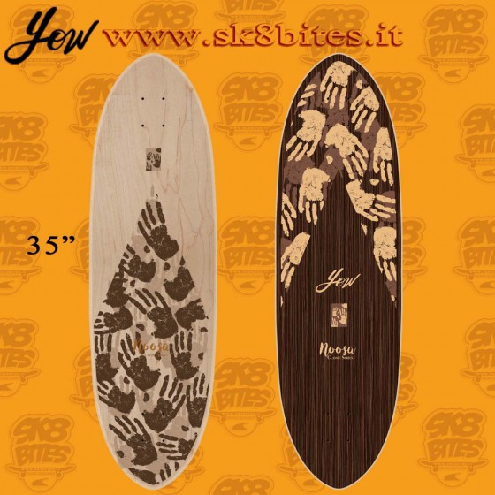 "Yow Noosa 35"" Surfskate Carving Deck"