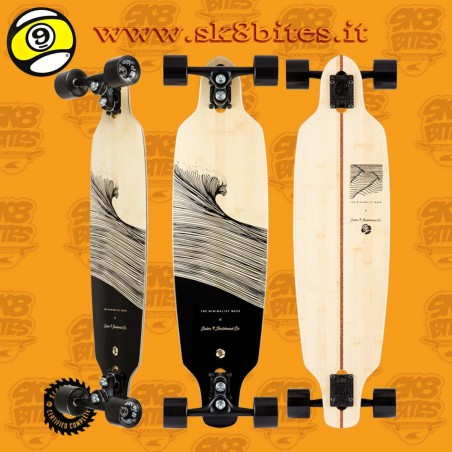 """Sector 9 Shocked Shoots 33,5"""" Longboard Carving Cruising Deck"""