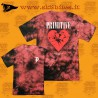 Primitive Shattered Coral Wash Skateboard Street Unisex Urban Clothing