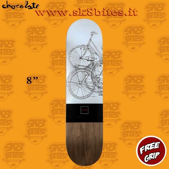 "Chocolate Anderson Modernica 8"" Skateboard Street Pool Deck"