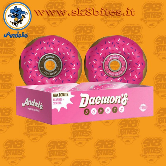 Andale Daewon Song Donut Wax Pro Rated Cuscinetti Skateboard Street Pool