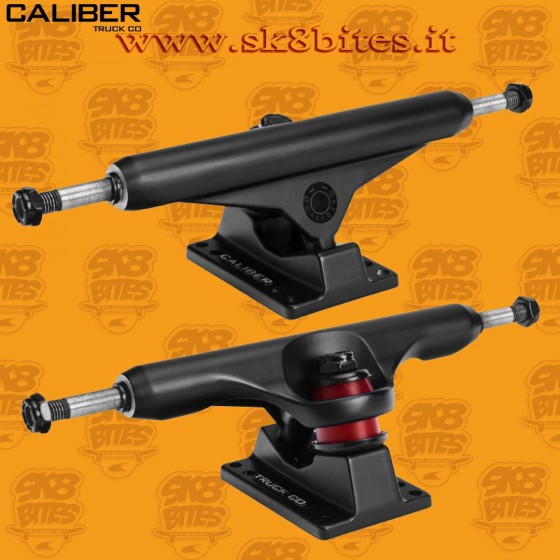 """Caliber Standard Black 9"""" 160mm Street Skate Techslide Trucks"""