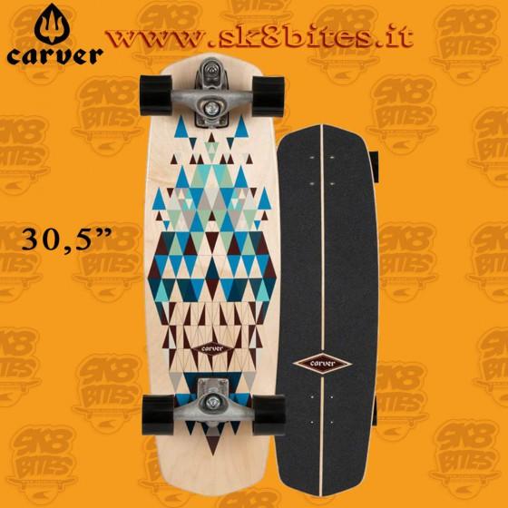 """Carver Prisma C7 30,25"""" Surfskate Carving Deck"""