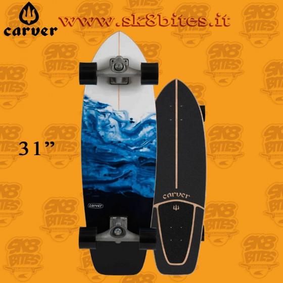 """Carver Resin 31"""" Surfskate Carving Deck"""