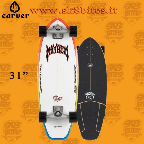 "Carver Lost Rad Ripper CX 31"" Surfskate Carving Deck"
