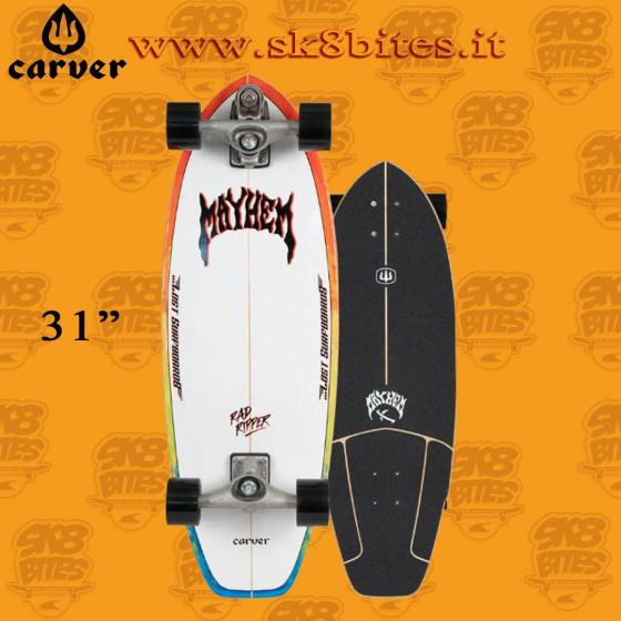 """Carver Resin C7 31"""" Surfskate Carving Deck"""