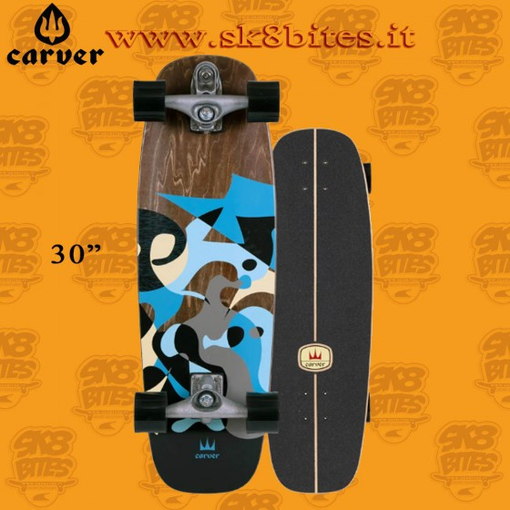 """Carver Blue Ray C7 30"""" Surfskate Carving Deck"""