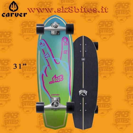 "Carver Lost Plank CX 31"" Surfskate Carving Deck"