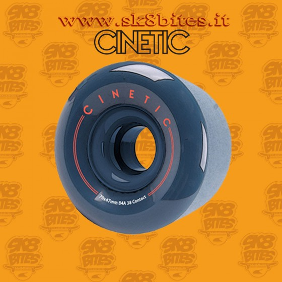Cinetic Fractal 70mm 84a Longboard Freeride Slide Freestyle Wheel