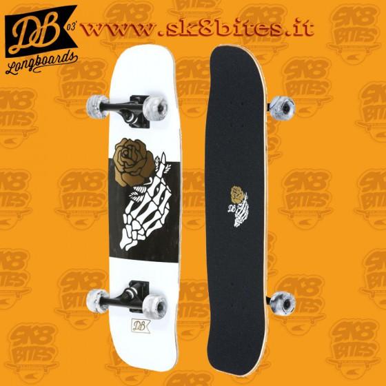 "DB Longboards Crook 32"" Tavola Longboard Skateboard Completa Cruising  Carving"