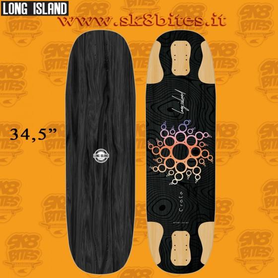 """Long Island Long Island Crate 34.5"""" Longboard Freeride Downhill Deck"""