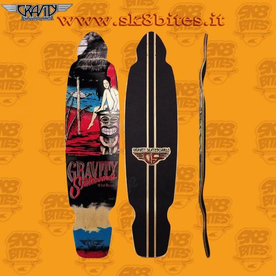 """Gravity 30"""" Stingray """"Stinger"""" Tavola Longboard Skateboard Carving Cruising"""