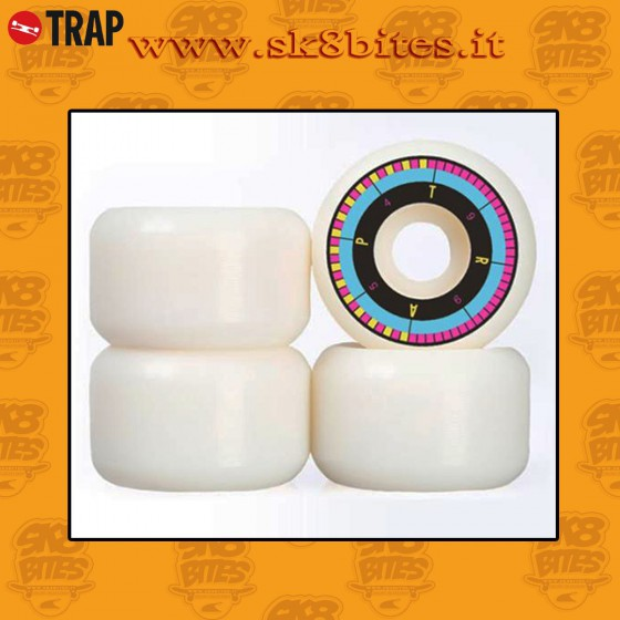 Trap Wheels Conical 54mm 99a Ruote Skateboard Street Pool