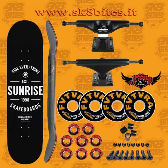 """Sunrise 8"""" Venture Trucks Set Up Tavola Skateboard Street Pool"""