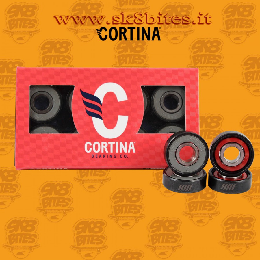 Cortina Gran Turismo Skateboard Street Pool Bearings