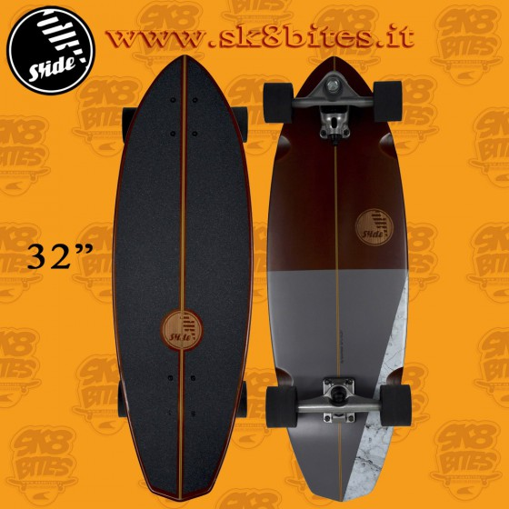 """Slide Surfskate Diamond Single 32"""" Tavola Longboard Surfskate"""