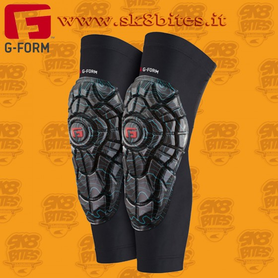 G-Form Elite Knee Guard Teal-Black Ginocchiere Skateboard Longboard Bike