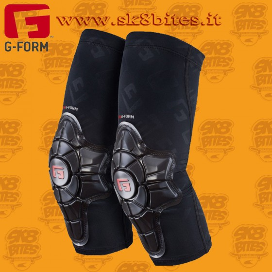G-Form Pro-X Elbow Pads Black Gomitiere Longboard Skateboard Street Bike Pattini