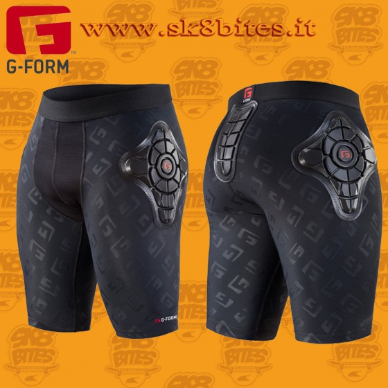G-Form Pro-X Shorts Black Longboard Bike Snowboard Crash Pants
