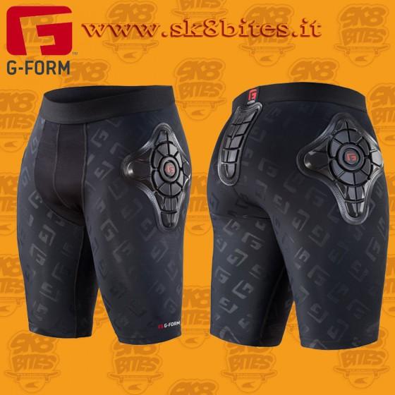 G-Form Pro-X Shorts Black Pantaloncini Imbottiti Protettivi Longboard Bike