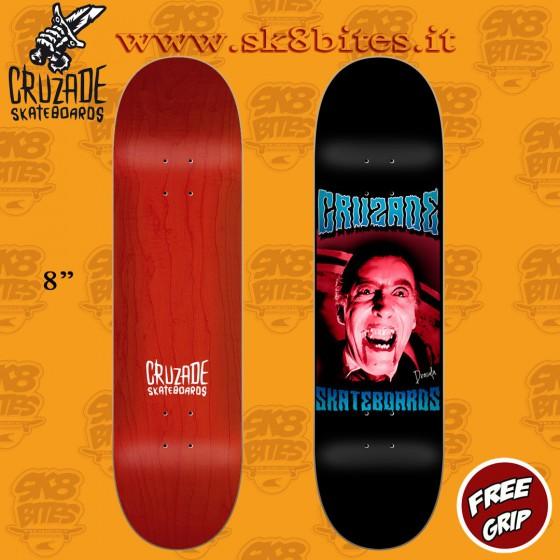 """Cruzade Serie B 8"""" Skateboard Street Pool Deck"""