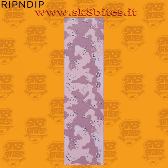 RIPNDIP Nerm Camo Griptape Choc Chip Skateboard Grip Sheet