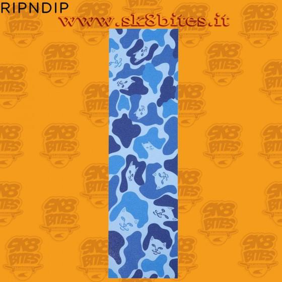 Nerm Camo Griptape Baby Blue Skateboard Grip Sheet