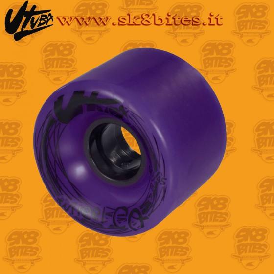 Utuba Susi Purple 60mm 78a Ruote Longboard Freeride Slide Cruising