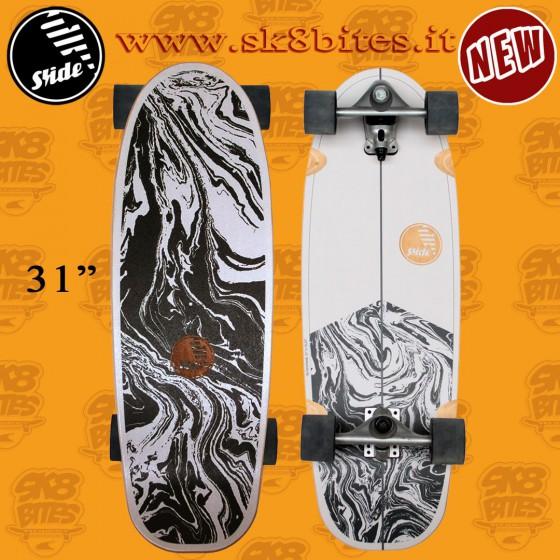 Slide Surfskate Gussie Stingray 31″ Tavola Completa Surfskate Carving Cruising