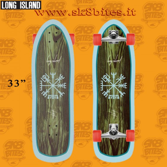"""Long Island Namibia 33"""" Complete Surfskate Carving Deck"""