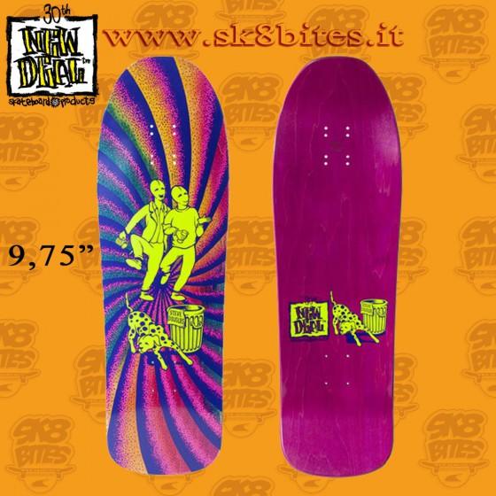 """New Deal Douglas Chums Neon 9,75"""" Skateboard Street Deck"""