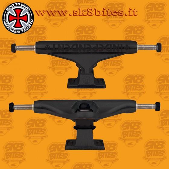 Independent Stage 11 Bar Black 144mm Skateboard Street Pool Trucks