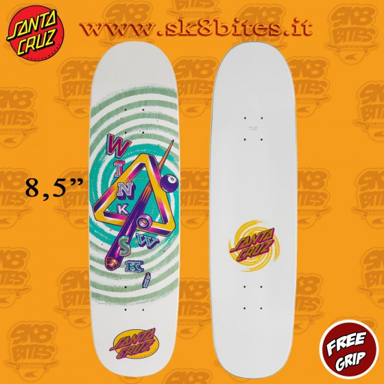 """Santa Cruz Powerply Winkowski Eight Dimension 8,5""""  Skateboard Street Deck"""